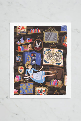 Rifle Paper Co - Print - Falling Alice