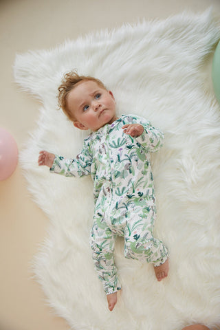 Fern Gully Sleep Suit - 6-12 Months