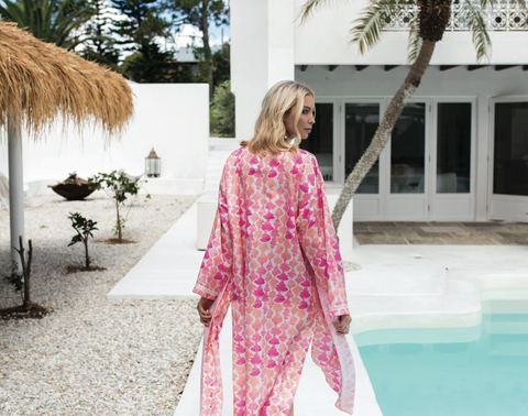 Louvelle - SASKIA Cotton Silk Robe
