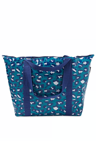 Project Ten - Leopard Zip Medium Tote