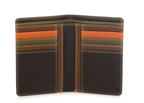 Continental Wallet with C/C pockets - Safari Multi 153-72