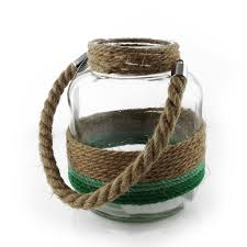 Glass Rope Lantern