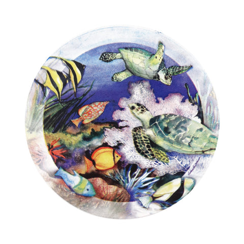 Green Sea Turtles Coasters