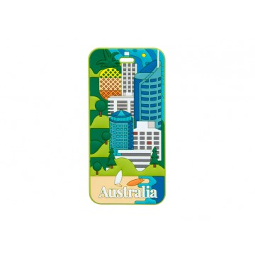 AUSTRALIA LUGGAGE TAG - QUEENSLAND