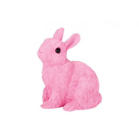Bunny Ornament - Pale Pink - Medium