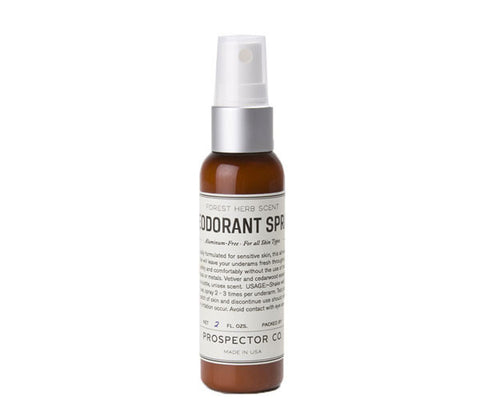 Prospector Co Deodorant Spray