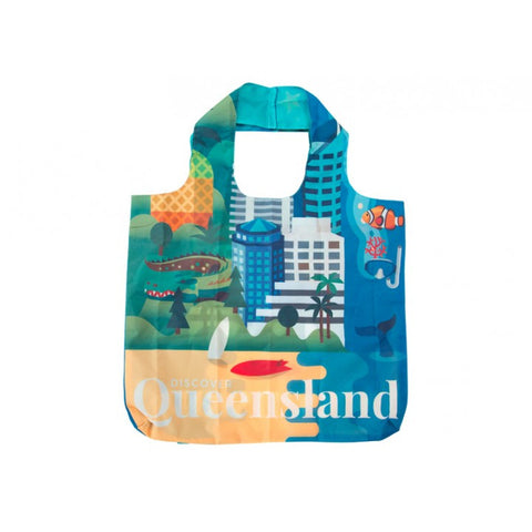 Australia Shopping Tote - Queensland