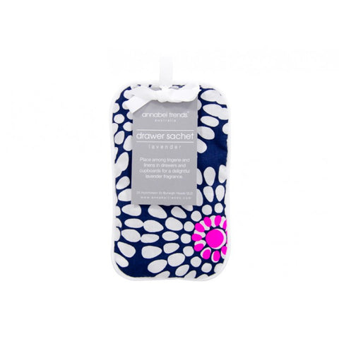 Pretties Drawer Sachet - Navy Floral