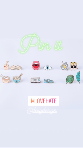 Pinaholic Assorted Brooches