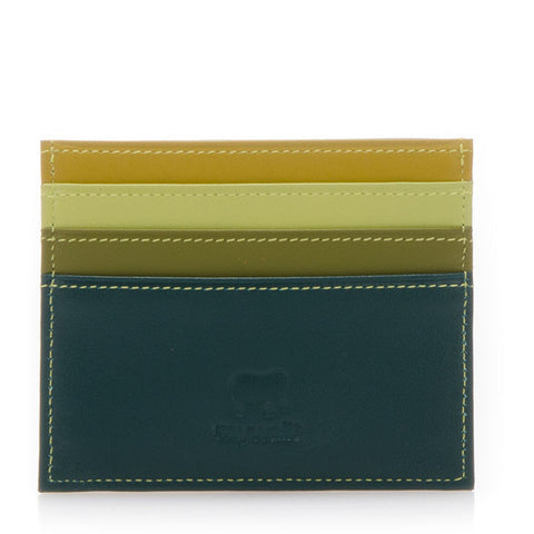Double Sided Credit Card Holder - Evergreen 160-105 - Bon Genre - 1