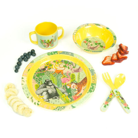 Children's Melamine Set Jungle