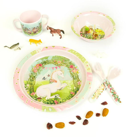 Children's Melamine Set Woodland