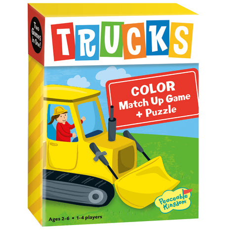 Match Up Games - Trucks