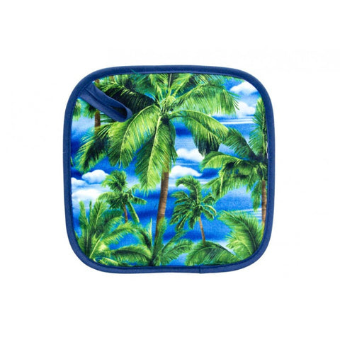 Pot Holder - Tropical Trees