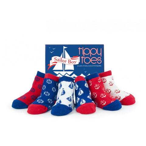 Tippy Toes Set of 6 - Sailor