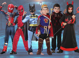 Full Set Exciting Halloween Costume for Boys - Theone Apparel