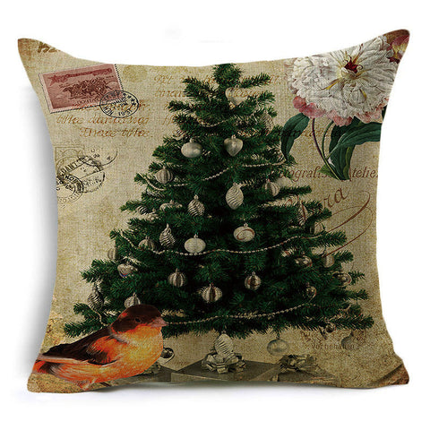 Christmas Tree Holiday Pillow Covers - Theone Apparel