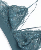 Triangle Lace Bralette and Panty Set