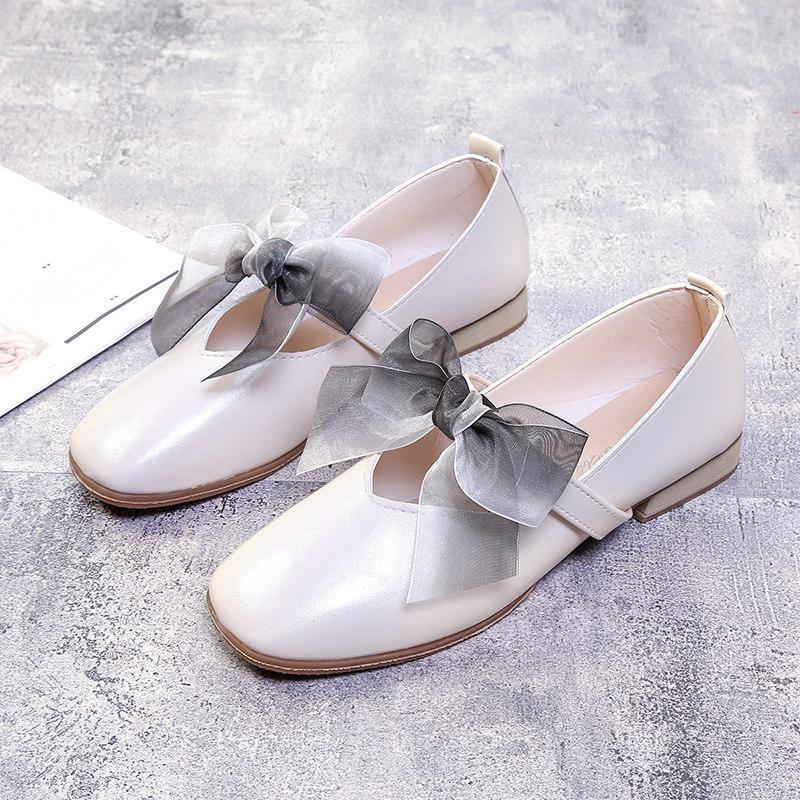 Big Beautiful Bow Maryjane Flats - Theone Apparel