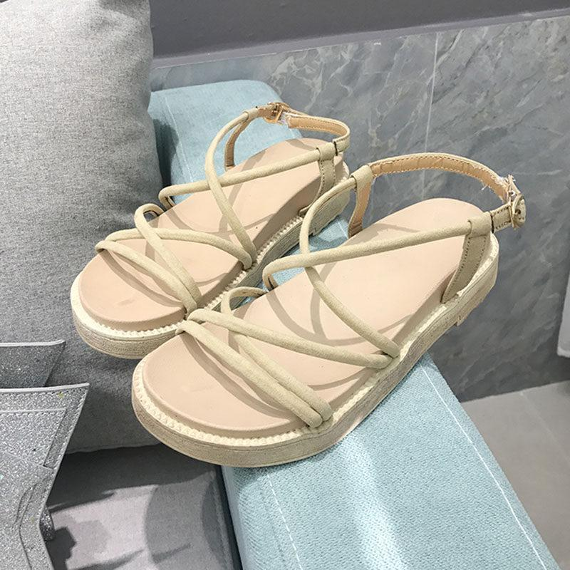 Strapped In Runaround Platform Sandals