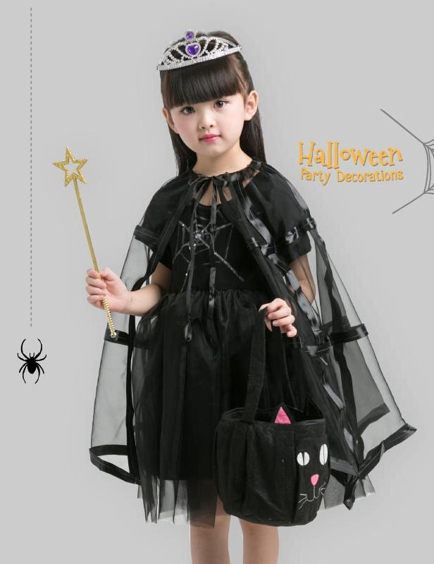 Cute Little Cat Halloween Costume for Girl - Theone Apparel