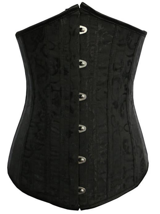 Damask Pointed Cincher Corset - Theone Apparel