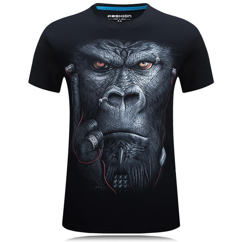 Mean Mugging Gorilla Face Shirt