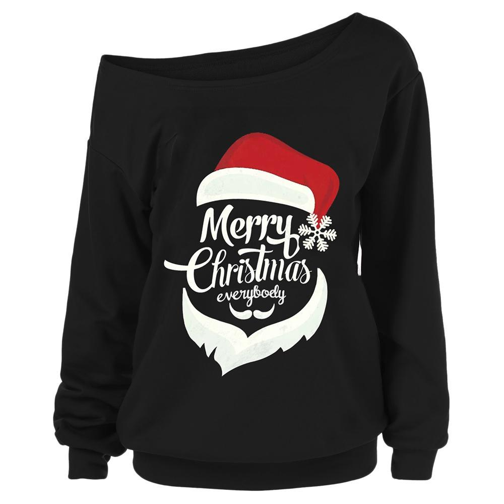 Merry Christmas Plus Size Sweatshirt