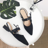 Pointy Toe Strap Back Sandal