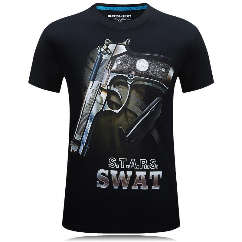 SWAT Bros Glock and Bullet Shirt