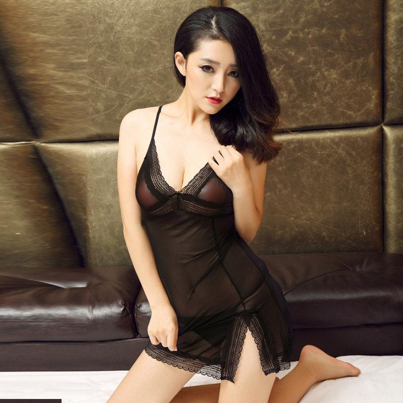 Show Some Leg Lingerie Dress
