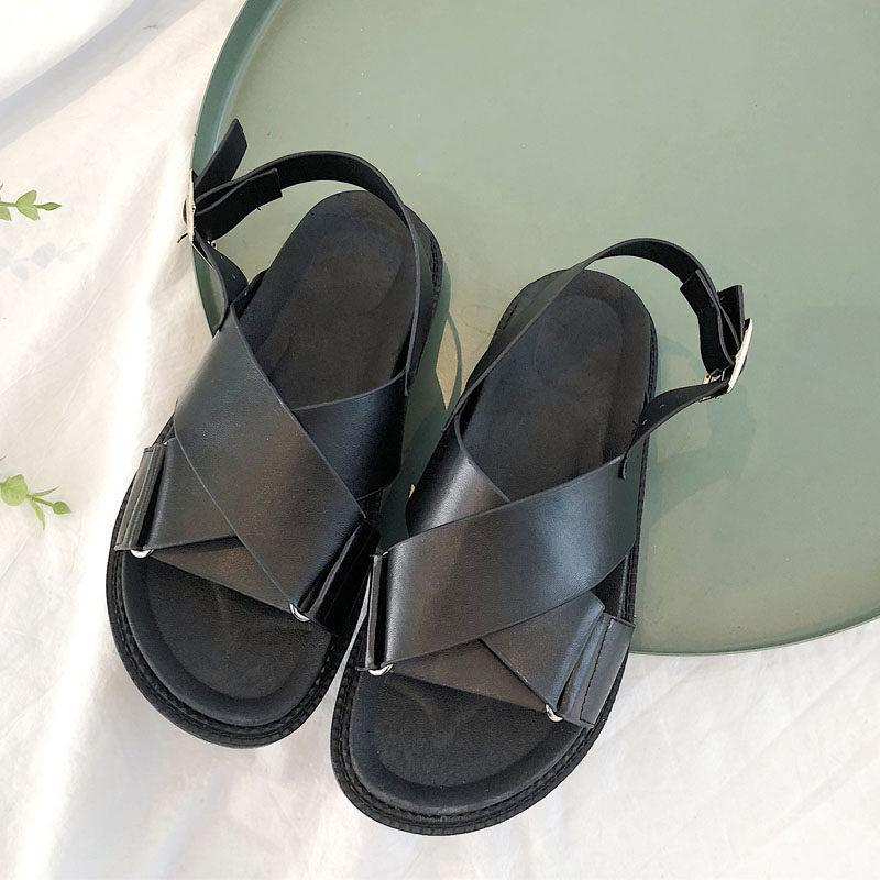 Thick Band Walking Comfort Sandals