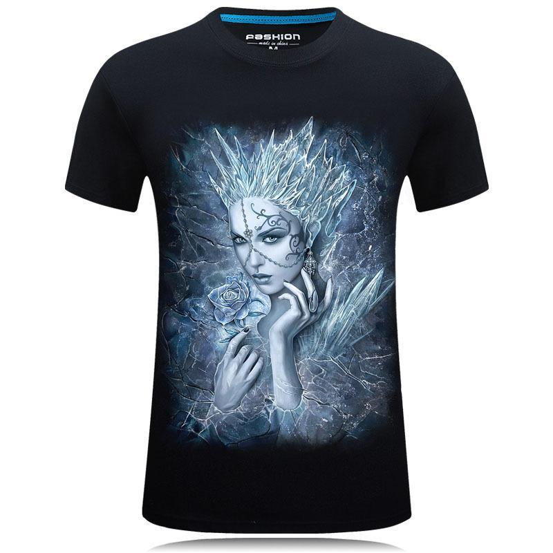 White Winter Ice Queen Shirt