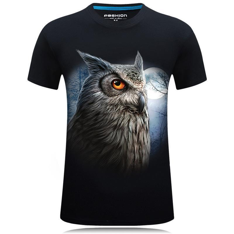 Wise Owl At Night Shirt
