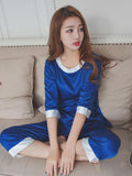 ¾ Sleeve PJ Pants Set