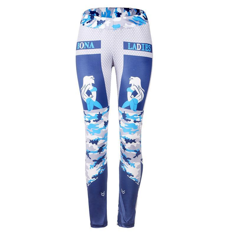 For the Ladies Printed Gym Leggings