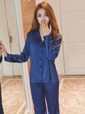 Long Sleeve Pajamas Set
