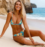 Terrifically Tropical Micro Bikini Set