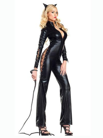 Cat Women Latex Cosplay Costome - Theone Apparel