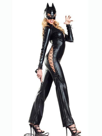 Cat Women Sexy Halloween Costume for Night - Theone Apparel