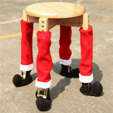 Chair or Table Christmas Feet Covers - Theone Apparel