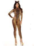 Erotic Cheetah One Size Costume for Halloween
