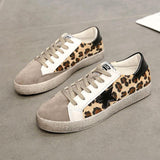 Cheetah Star Suede Sneaker Shoes - Theone Apparel