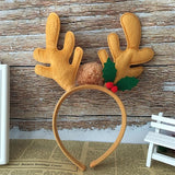 Christmas Antlers Kids Party Headband - Theone Apparel