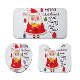 Christmas Cheer Holiday Bath Mats - Theone Apparel