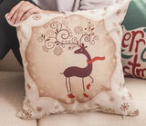 Christmas Cheer Printed Pillow Covers - Theone Apparel
