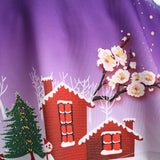 Christmas Snowman Plus Size Skirt - Theone Apparel