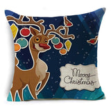 Christmas Tidings Printed Pillow Covers - Theone Apparel