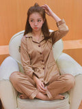 Comfortably Cute Long Sleeve Pajamas Set - Theone Apparel