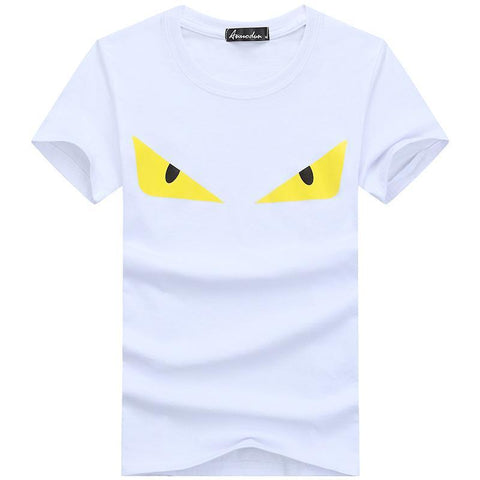 Creepy Bat Eyes Short Sleeve Tee - Theone Apparel